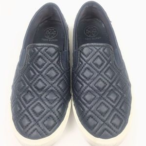 Tory Burch Jessie Quilted Slip-on Sneaker